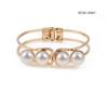 Customized Fashion Bangle Cuff HC06-10885  stainless steel bangles  wholesale imitation pearl bracelets