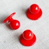 Chef Buttons,Red Kitchen Chef Button, Kitchen Clothing Buttons,Plastic chef stud button