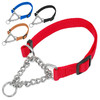 Kingtale Heavy Duty Nylon Dog Martingale Chain Collar with Quick Release pet accessories