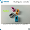 Dual Color OLED Fingertip Pulse Oximeter with SpO2 Line Waveform