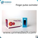 Portable Fingertip Pulse Oximeter with Visual and Sound Alarm Function
