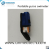 Portable LED Fingertip Pulse Oximeter with Carrying Bag