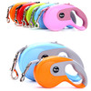 Roulette For Dogs Auto Retractable Leashes Flexible Cats Dog Collar 7 Colors Puppy Nylon For Small Medium Large Pets Accessories