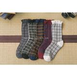 New personality stockings all cotton grosgrain lace ladies'stockings retro fashion socks