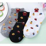 Short socks female pure cotton cartoon autumn and winter socks wholesale odor-proof sweat-absorbing three-dimensional ear manufacturers wholesale