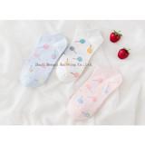 Autumn New Cartoon Lollipop Female Boat Socks Sweet Lady Cotton Socks Comfortable Ventilation Factory Wholesale