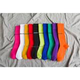 New fashion stockings children Paris alphabet family high stockings all cotton purple ladies stockings pile stockings wholesale