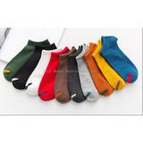 Socks Men's Short Socks Summer Thin Men's Cotton Socks Short Tubes Low Band Deodorization Sweat Absorbing Boat Socks Men's Shallow Mouth