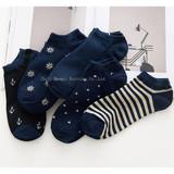 Socks Men's Cotton Short Socks Summer Short Tube Thin Invisible Socks Shallow Mouth Tide Boat Socks Low-end Socks