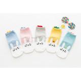Children's socks wholesale Mengzi cotton goods children's socks autumn and winter new rabbit three-dimensional love cotton socks