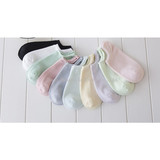 New socks children spring and summer thin candy boat socks cotton pure color leisure socks manufacturers wholesale