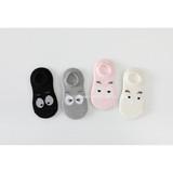 Korean Version 2019 Cartoon Eye Moulding Children Summer Girl Boy Boat Socks, Socks and Thin Socks
