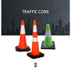 750mm Height PE Plastic Traffic Road Safety Sport Cone