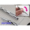 Special design - Shake stylus pen, Mesh stylus pen, 2 in 1 fabric and ball point stylus pen manufacture, AS 032