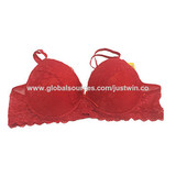 Ladies' Underwired Bra with Lace