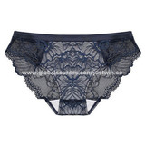 High Quality Mid-rised Ladies' Lace Panty Briefs