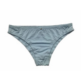 Women's Microfber brief  with picot edge