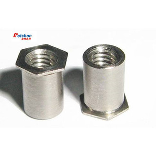 Plating zinc,PEM Standard,in Stock, Carbon Steel Nuts SO-3.5M3-10 Thru-Hole Threaded standoffs