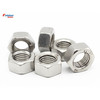 Wholesales Factory M6/8/10/12/14 Hexagon Nuts Metric Thread Suit For Screw Bolts Zinc Plated Carbon Steel DIN934 ISO4032