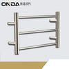 foshan factory wallmounted heated towel rails for bathroom