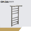 ondawarmer stainless steel heated towel warmer with shelf