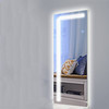 Factory wholesale touch screen fog proof mirror Illuminated backlit smart lighted mirror led bathroom mirror