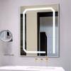 ETL UL Hotel Lighted Makeup Mirrors Frameless Bathroom Led Mirror