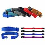Custom Logo Adjustable Durable Nylon Dog Collar,nylon printing dog collar,innovative dog collar