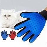 Pet Grooming Glove, Pet Deshedding cleaning Brush glove, silicone dog pet brush glove