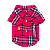 2019 Autumn Summer Pet Dog Clothes Pet Plaid Shirts Small Dog Easy Matching Clothes