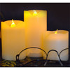 3pcs/Lot Small Battery Operated Led Candle With Long Lasting Bright Light Flameless Led Pillar Candle Set With High Quality