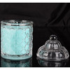 European SPA Soy Wax Crystal Glass Jar Candles For Hotel