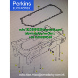 Perkins Valve Cover Gasket Seal 3681C003 for 1006-6 series engine parts