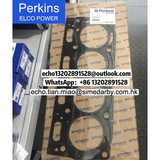 T409652 Cylinder head gasket for Perkins engine 1100 series/3681E051 +0.25