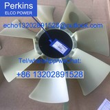 Genuine /original Perkins diesle engine spare parts FAN BLADE 145306880 for 404C-22 403C-15