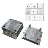 Household industrial wall socket mold plastic parts housing Injection molding cheap price