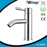 Round shape Casting Stainless Steel Basin Faucet