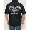 Biker legend shirts,harley shirts,flame shield shirts,short sleeve man shirts 20FM-98686