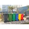 240L plastic trash bin