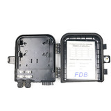 Water-proof outdoor 8 cores fiber optic distribution box
