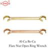 Flare Nut Open Ring Wrench non sparking Aluminum bronze and beryllium bronze 6*7mm
