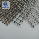 Plain weave custom stainless steel wire decoration  mesh