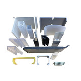 Extrusion and Injection Plastic Profiles,Machining Extrusion Plastic Profile, Plastic Linear Rail factory,Plastic Injection Products