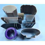 Plastic Injection,Custom Plastic Injection Profiles, Plastic Cable Pipe, Plastic Cable Tube Manufacturer