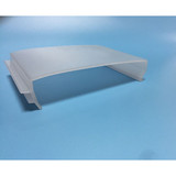 LED Ceiling Panel and Troffer,Plastic Extrusion Led Cover, Custom Plastic Led Pipe China,Custom Plastic Led Lamp Shade