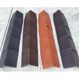 The Plastic Ridge for Roof Tile/Roof Plastic Ridge  plastic extrusion supplier   Plastic Extrusion Roof Slate