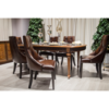 dining room furniture luxury wooden dining table set 6 chairs