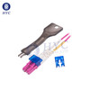 LC Secure Lockable Connector Keyed LC Fiber Optic System HYC Co Ltd