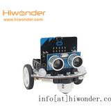 Microbot: Hiwonder micro:bit Programmable Robot Kit for Beginner Coding and AI Learning