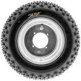 SunF 25x10.5-12 25x10.5x12 ATV UTV A/T Golf Cart Tires Race Replacement 4 PR Tubeless Tires G003